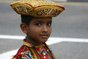 sri lanka parade boy